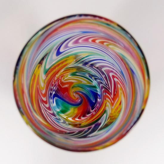 ガラス工房Merhaba(メルハバ)|タンブラーB Rainbow