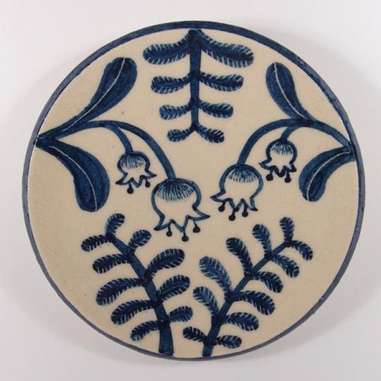 大内瑤子(おおうちようこ)|まめ絵皿-すずらん