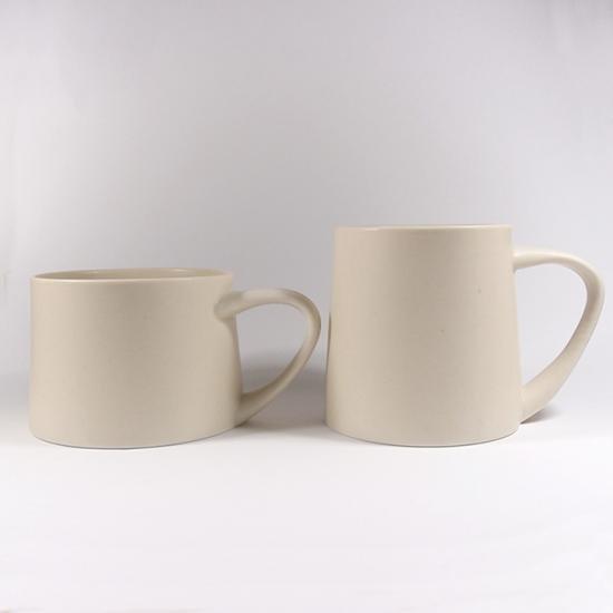 KANEAKI SAKAI POTTERY|flat S mug(アイボリー)