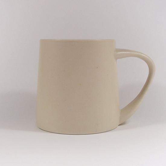 KANEAKI SAKAI POTTERY|flat L mug(アイボリー)