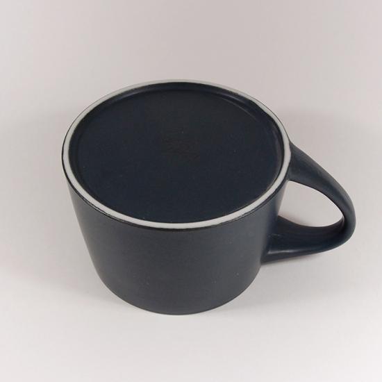 KANEAKI SAKAI POTTERY|flat S mug(コバルト)