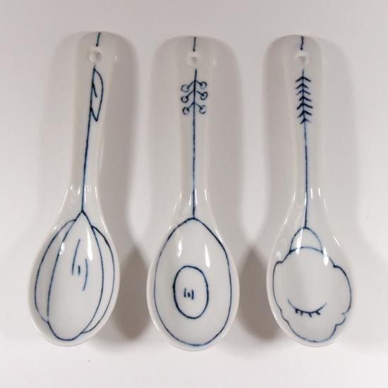 KANEAKI SAKAI POTTERY|spoon【s07】
