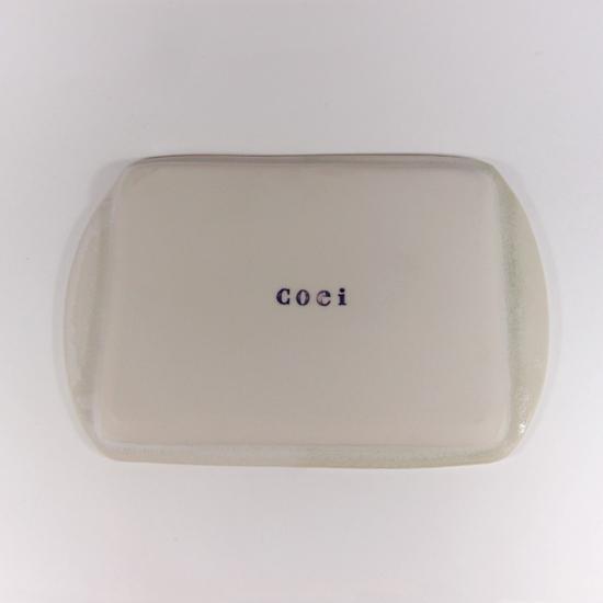 Pottery studio COEI|リム長方皿A