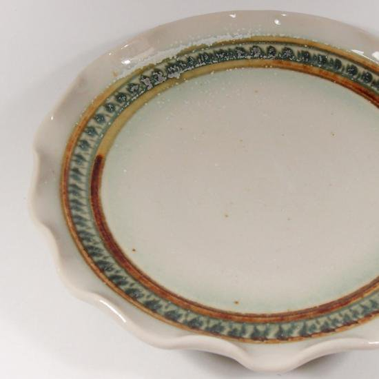 Pottery studio COEI|輪花5寸皿C