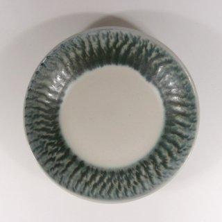 Pottery studio COEI|とびかんな4.5寸リム皿