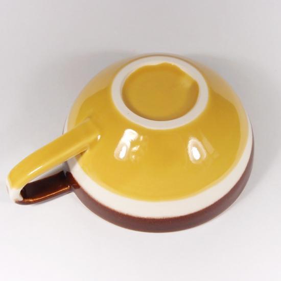 堀内大輔|カラースープカップ(黄色)