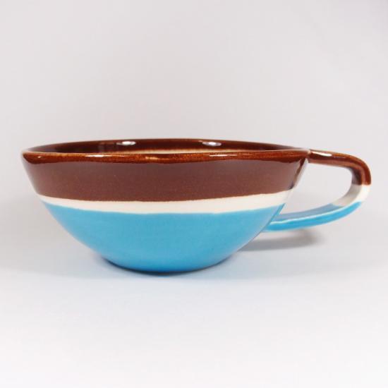 堀内大輔|カラースープカップ(水色)