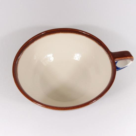 堀内大輔|カラースープカップ(紺色)