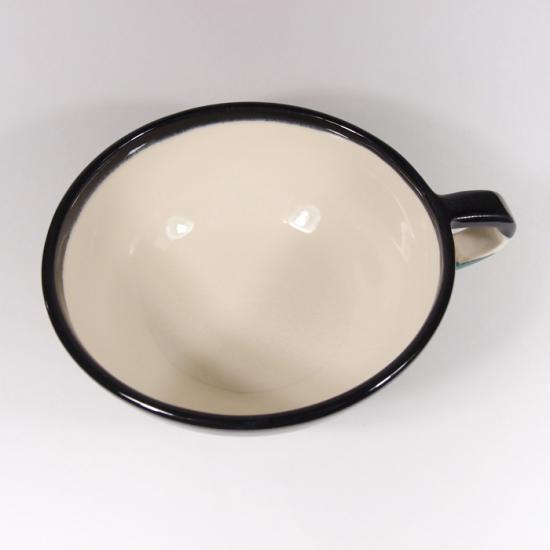 堀内大輔|カラースープカップ(艶消しグリーン)