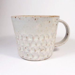 伊藤豊|ブロック マグカップ(粉引)【美濃焼】