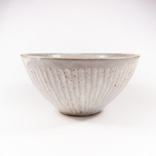 伊藤豊|粉引き シノギボール【美濃焼】