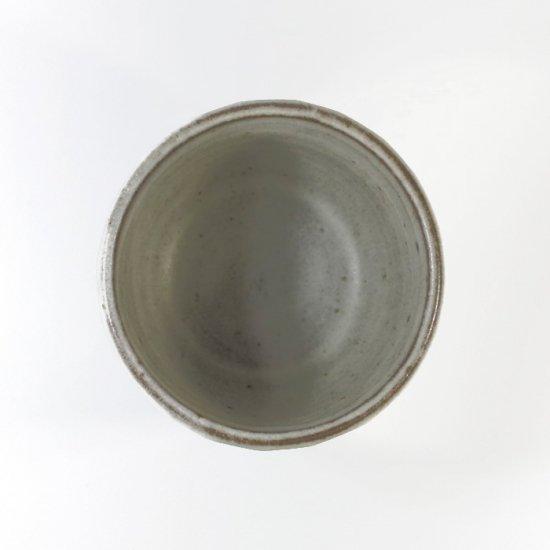 比呂|面取り 蕎麦猪口(白)【笠間焼】