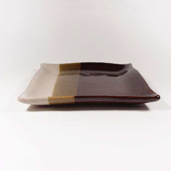 比呂|角皿【笠間焼】