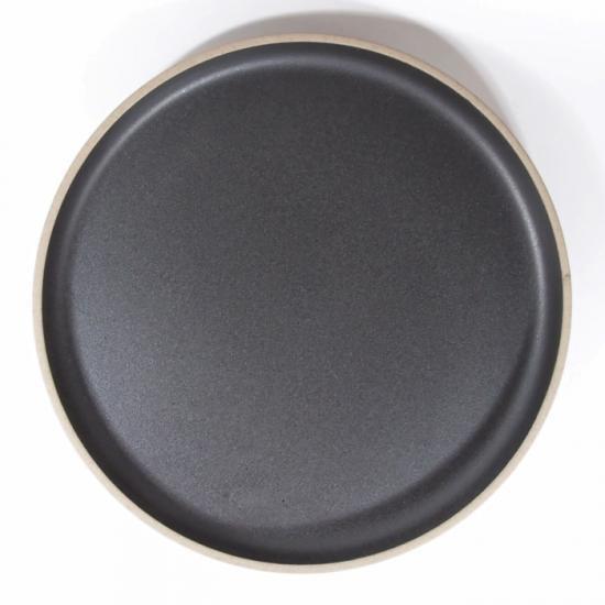 HASAMI PORCELAIN|プレート 22cm ブラック【波佐見焼】