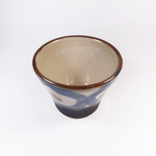 ノモ陶器製作所(野本周)|蕎麦猪口 コバルト 【やちむん】