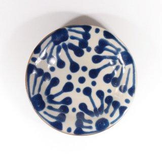 ノモ陶器製作所(野本周)|5寸皿 コバルト 【やちむん】