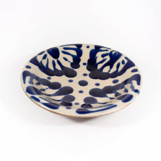 ノモ陶器製作所(野本周)|6寸皿 コバルト 【やちむん】