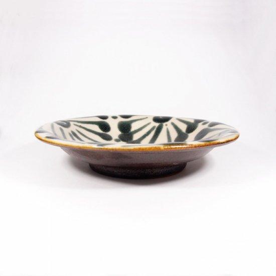 ノモ陶器製作所(野本周)|6寸皿 ゴス 【やちむん】