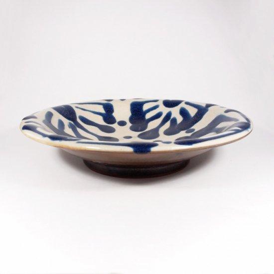 ノモ陶器製作所(野本周)|7寸皿 コバルト 【やちむん】