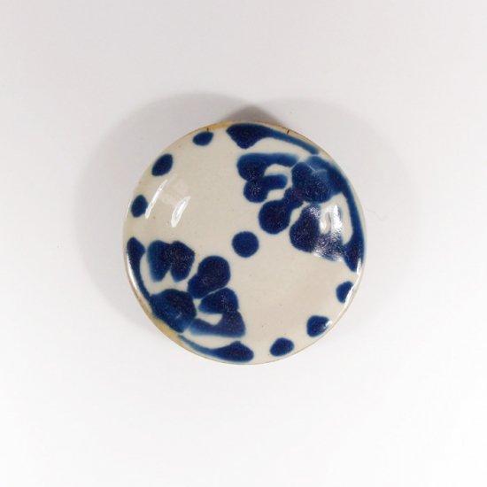 ノモ陶器製作所(野本周)|小皿 コバルト 【やちむん】