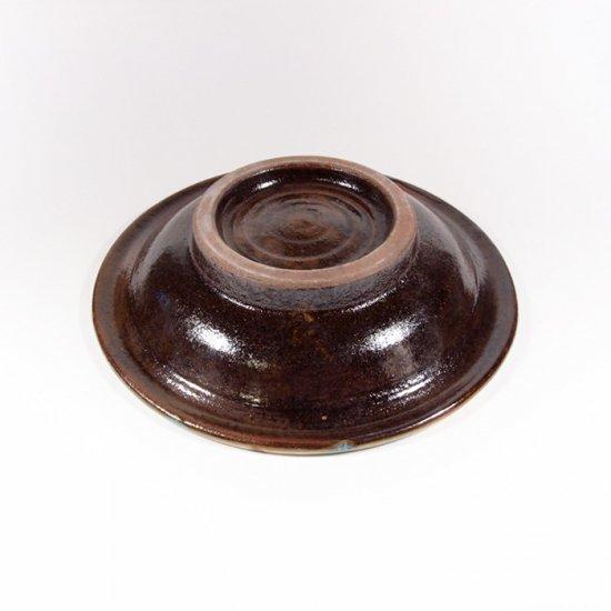 ノモ陶器製作所(野本周)|5寸皿 緑釉(オーグスヤー) 【やちむん】