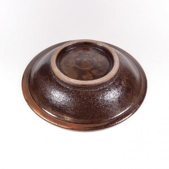 ノモ陶器製作所(野本周)|6寸皿 緑釉(オーグスヤー) 【やちむん】