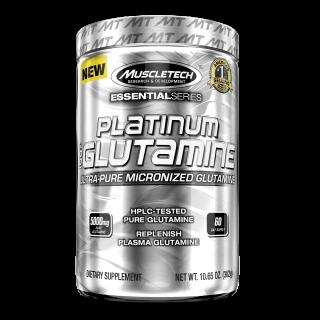 マッスルテック プラチナム100%グルタミン 300g入りサイズ