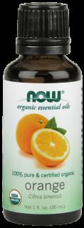 オーガニックエッセンシャルオイル精油 オレンジ (30 ml)