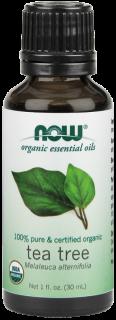 オーガニックエッセンシャルオイル精油 ティーツリー (30 ml)