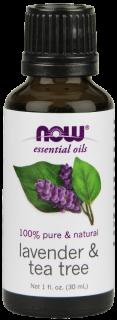エッセンシャルオイル精油 ラベンダー& ティーツリー オイル (30 ml)