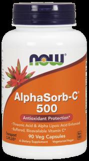 アルファソーブC 500mg(ビタミンC トレオン酸+アルファリポ酸) 【ベジタリアン/ビーガン製品】
