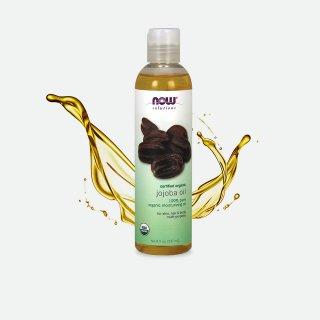 オーガニックエッセンシャルオイル精油 100%ピュア オーガニック ホホバオイル (118 ml)