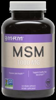MSM(メチルサルフォニルメタン) 120ベジタリアンカプセル