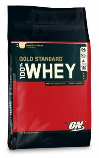 ゴールドスタンダード 100%ホエイプロテイン (4.5kg)