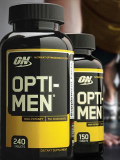 オプチ-メン 男性用マルチ栄養タブ
