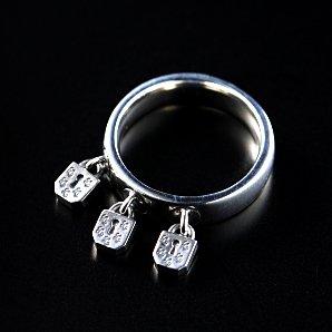 Three-Lock Ring(Key Hole)