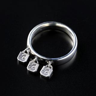 Three-Lock Ring(L-Logo)