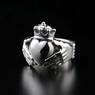 Big-Claddagh Ring