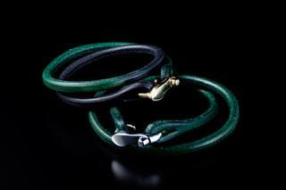High-heeled Leather Bracelet