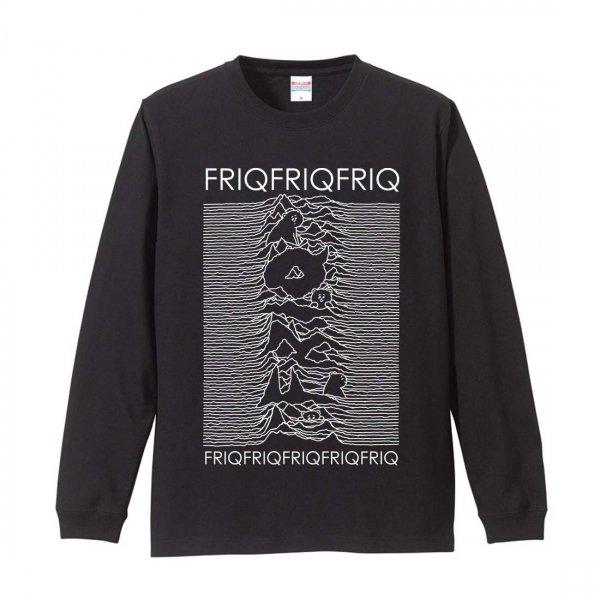 FRIQFRIQFRIQ ロングスリーブTシャツ ブラック