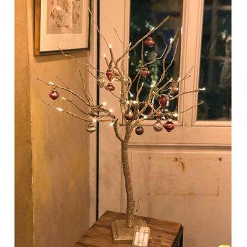 Christmas Branch tree(オーナメント付き)S