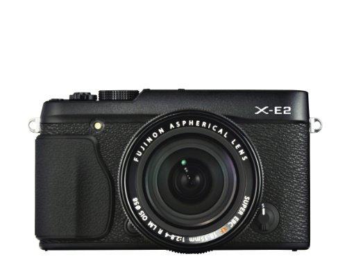【N】FUJIFILM ミラーレス一眼 X-E2 ズームレンズキット ブラック F X-E2B/1855KIT【中古品】
