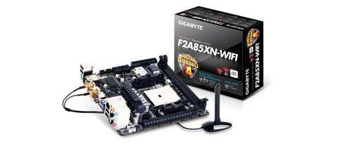 【N】GIGABYTE マザーボード AMD A85X FM2 Mini-ITX GA-F2A85XN-WIFI【中古品】