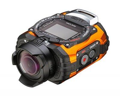 RICOH 防水アクションカメラ  WG-M1 オレンジ  WG-M1 OR 08286【中古品】