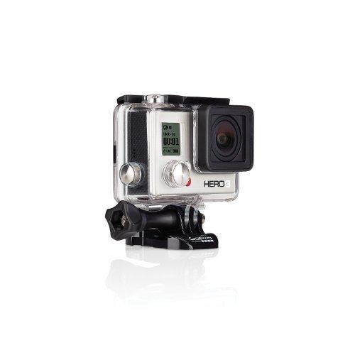 【N】【国内正規品】 GoPro ウェアラブルカメラ HERO3 ホワイトエディション(40m防水ハウジンク゛Ver.)【中古…