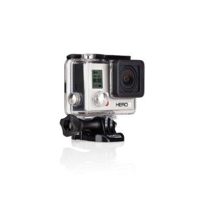 【国内正規品】 GoPro ウェアラブルカメラ HERO3 ホワイトエディション(40m防水ハウジンク゛Ver.)【中古品】