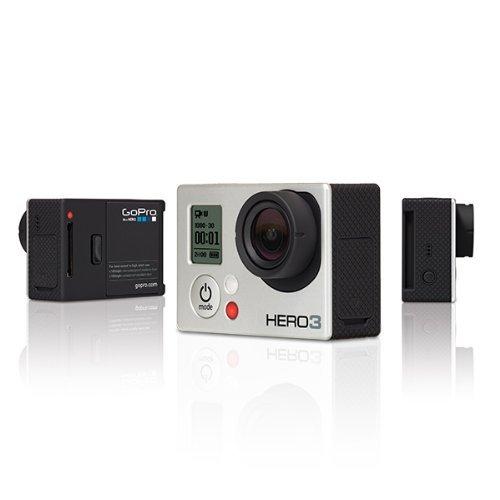 【N】【国内正規品】 GoPro ウェアラブルカメラ HERO3 シルバーエディションCHDHN-301-JP【中古品】