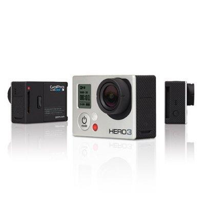 【国内正規品】 GoPro ウェアラブルカメラ HERO3 シルバーエディションCHDHN-301-JP【中古品】