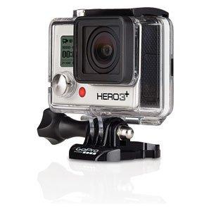 【国内正規品】 GoPro ウェアラブルカメラ HERO3+ シルバーエディション CHDHN-302-JP【中古品】