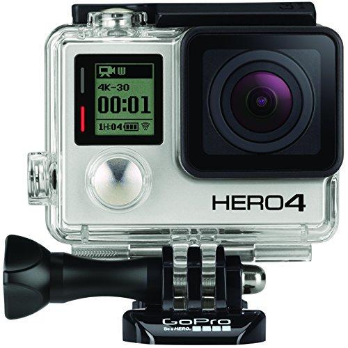 【N】【国内正規品】 GoPro ウェアラブルカメラ HERO4 ブラックエディション アドベンチャー【中古品】